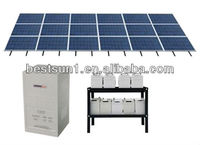 Bestsun water solar system BPS3000W Solar Electric (PV) Panels high quality, good after sales service