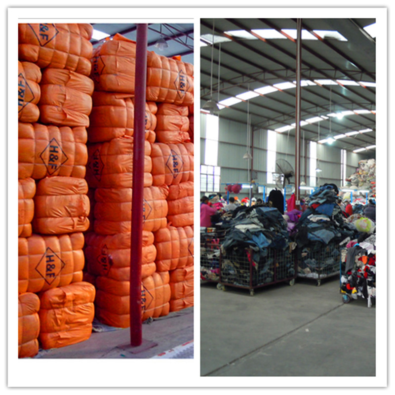 second hand clothing in bale and used clothes in china
