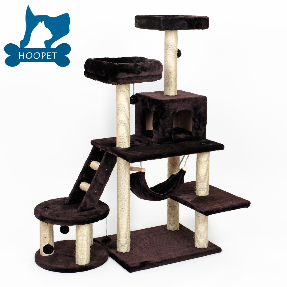 Cat Scratching Post Tree With Multi-Level For Cat