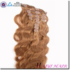 directly factory wholesale Best Selling Remy Double Drawn Quad Weft Clip In Hair Extension