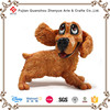 Funny resin decorative dog statue