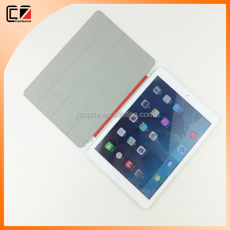 PC with smart cover for iPad Air 2,for iPad Air 2 smart cover case