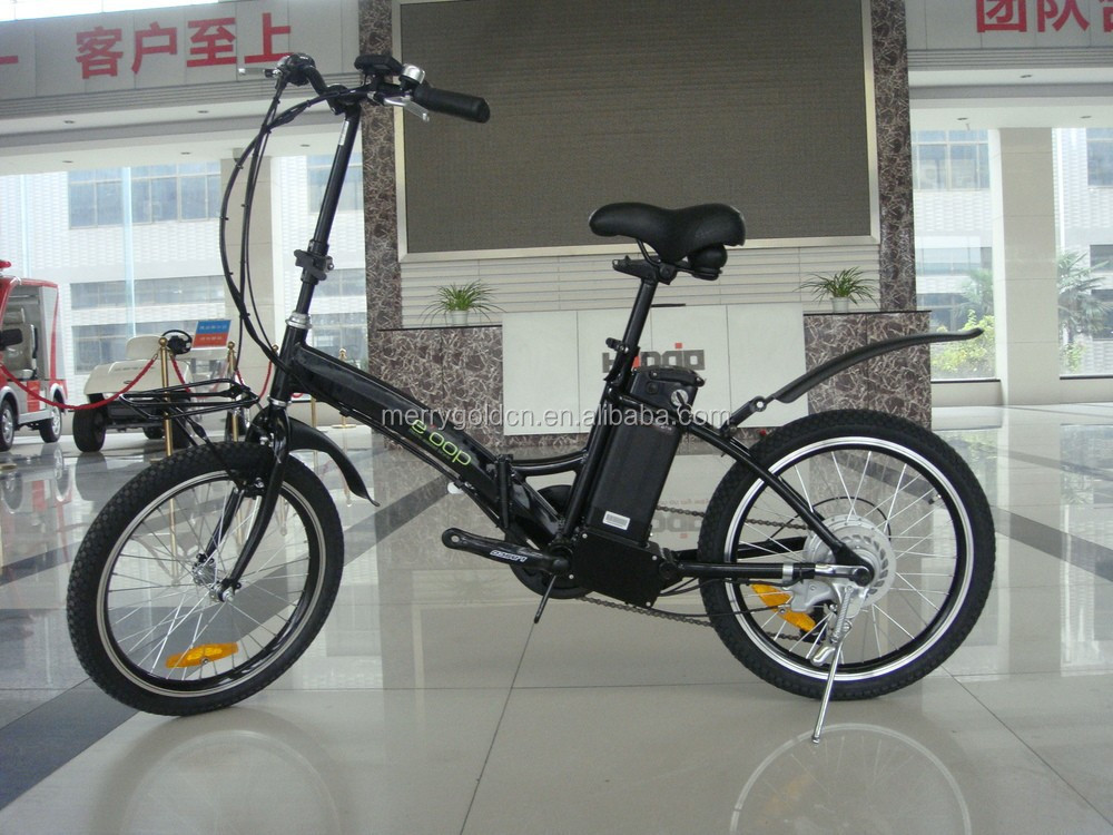 buy lithium battery powerd 36V foldable electric bicycle in china