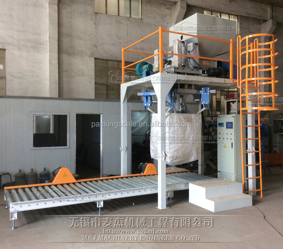 1 ton bag filler for cement fly ash concrete wuxi m&j