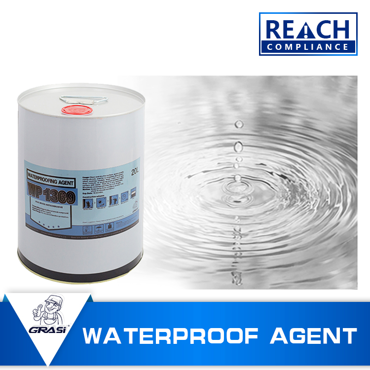 WP1369 against water-based stains nano self cleaning coating for log structure protection