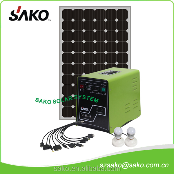 SMP solar inverter with battery and solar panel