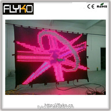bright XXX video show led display /led stage backdrops
