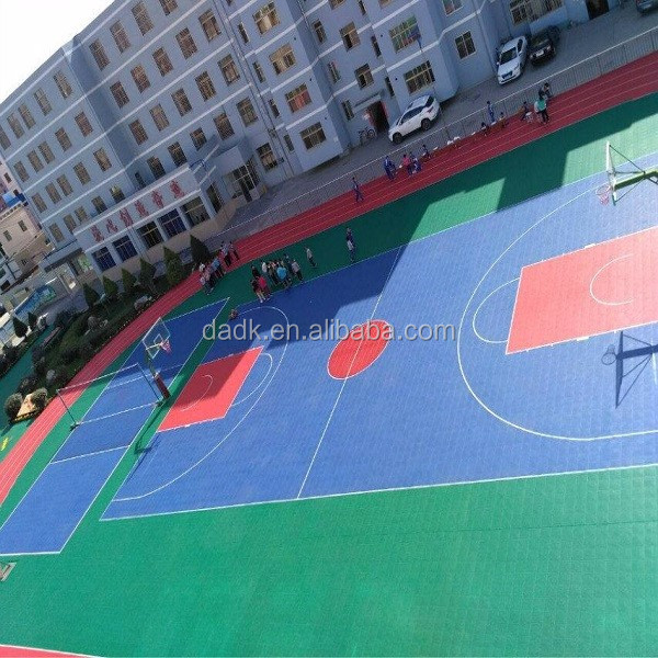 PP suspended university basketball sport court