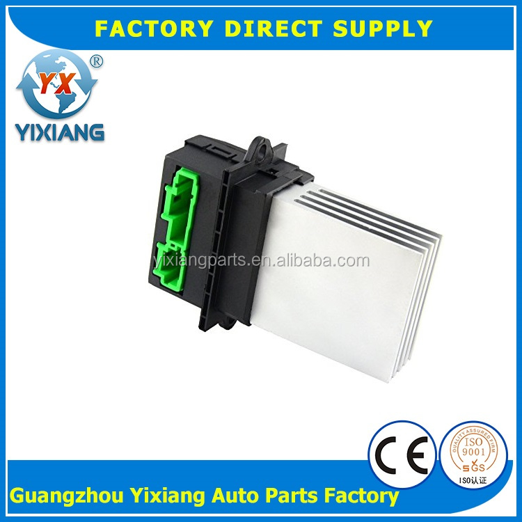 A/C rheostat Control Unit heater blower motor resistor for Citroen C2 C3 C5 Peugeot 1007 207 607 6441.L2 6441L2 770104839