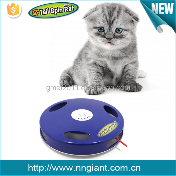 Tail Spin Rat 2016 new voice cat toy electric pet toy OEM