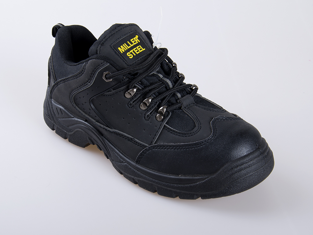 High Quality Wholesale Price Men Coal Mining FootwearBlack Steel Safety BootsBrand Industrial ...