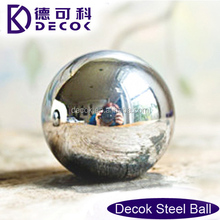 150mm decorative hollow stainless steel garden balls
