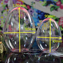 wholesale colorful Egg-shape Easter party decorations