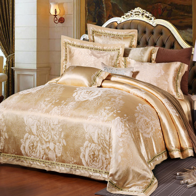 king size comforter 100% cotton jacquard bedding set