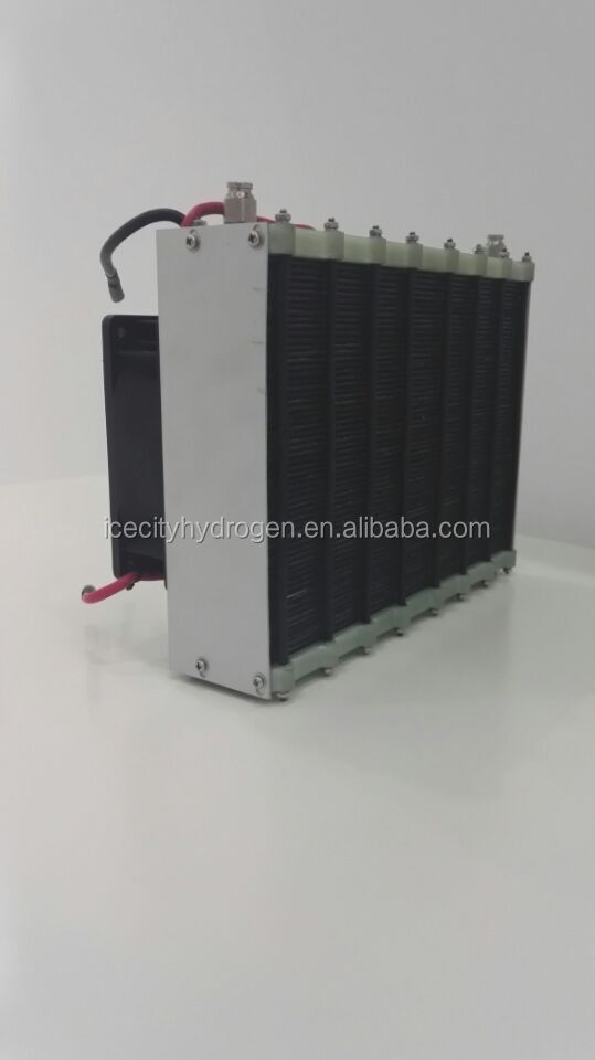 500W 21V Graphite plate PEM stack with self-humidifying and air-cooling hydrogen fuel cell
