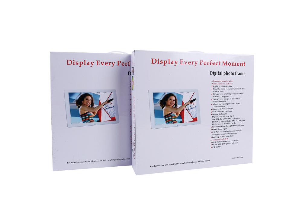 AD Player  12 Inch Large Screen LED Digital Photo Frame Album