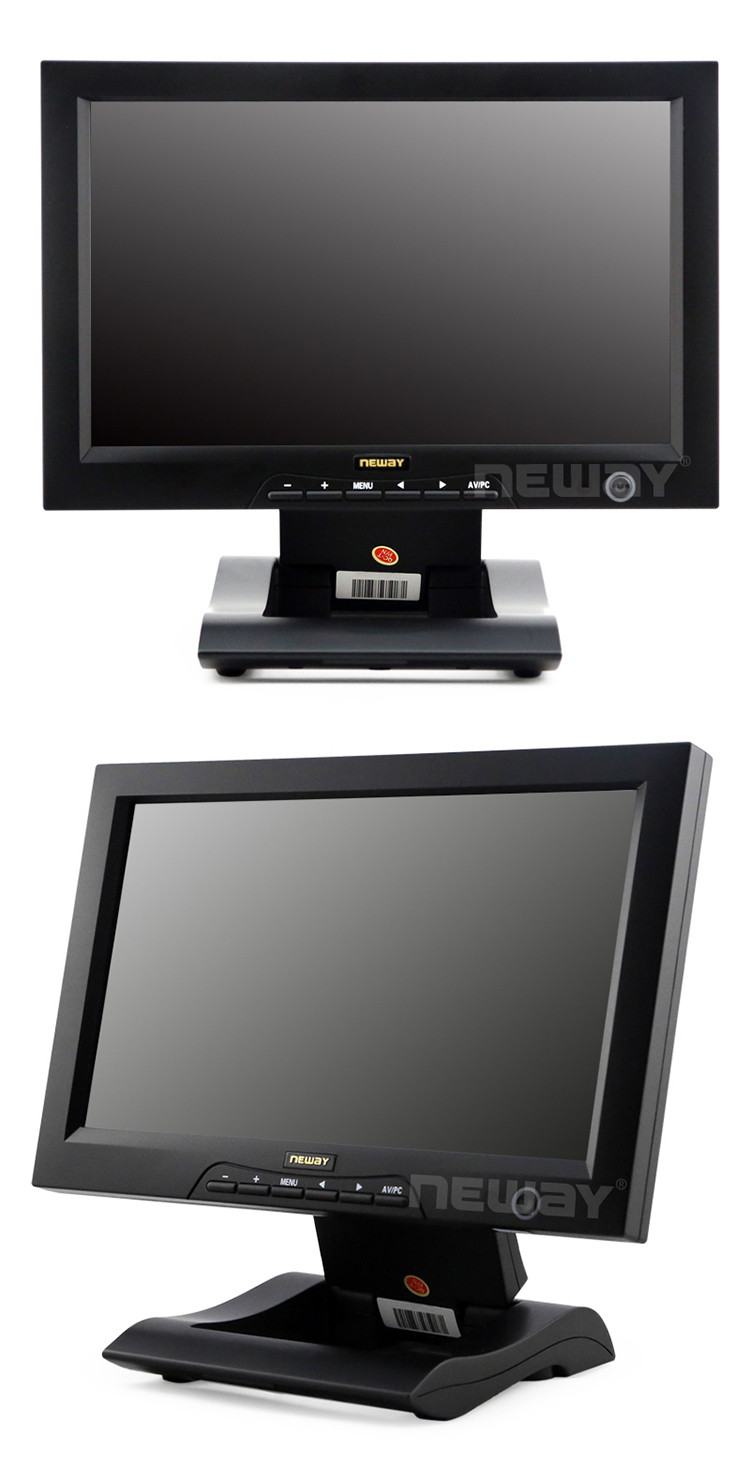 10 Inch 1024X600 Capacitive Touchscreen LCD TFT Monitor 12V Power Supply