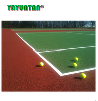 ITF approved Tennis court acrylic coating for sport and safety flooring