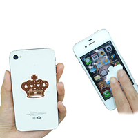 mobile phone heat transfer screen sticker on covers