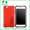 Free sample protective 2 in 1 hybrid rubber shockproof 6 color phone cover case for Apple Iphone 6 6s