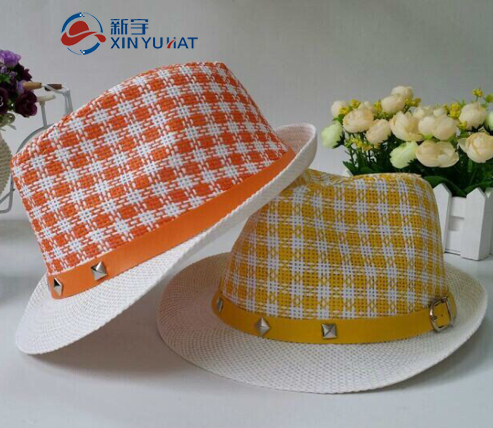 fashion design cheap children straw hat