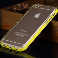 LED For iPhone 6 Case Phone Case Silicone 6 Bling TPU For iPhone 6 LED Light Shining Bumper Case