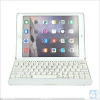 High Quality Ultra Thin Wireless Aluminum bluetooth keyboard for Apple iPad Air 2