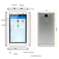 SC7731 3G Mobile Phone Octa Core 5.0'' 4GB ROM best quality android phone