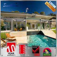 Australia standard as2047/as1228/as2208 swimming aluminum pool fencing