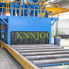 Roller Conveyor Steel Plate Surface Shot Blasting Cleaning Machine
