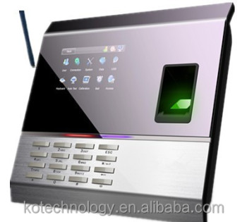 KO-M11 Italian Menu sim card biometric attendance machine