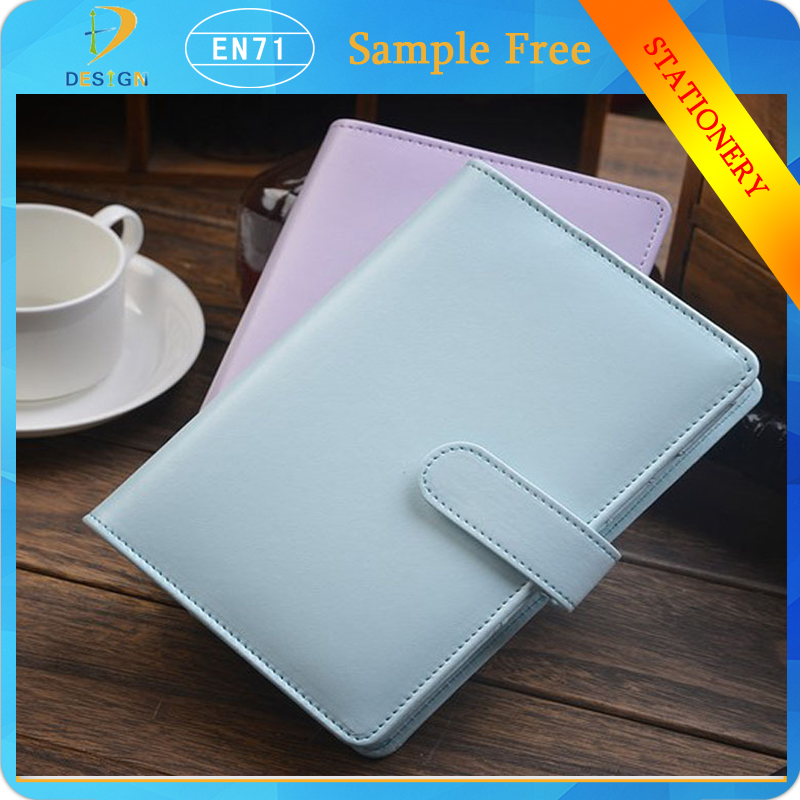 Classic Design pu Personal Pocket Organiser Planner Leather Spiral Diary Notebook