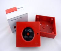 break glass fire alarm conventional manual call point
