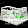 Detian offer exhibition booth for trade show display customize portable system