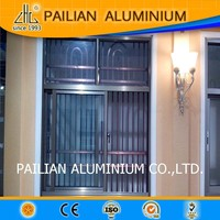 HOT!Guangdong eletrophoresis alloy 6063 customied model price aluminium interior sliding window section for wholesale