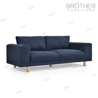 Cheap Wood Leg Sofa Set High
