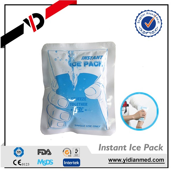New design neoprene one time use ice pack