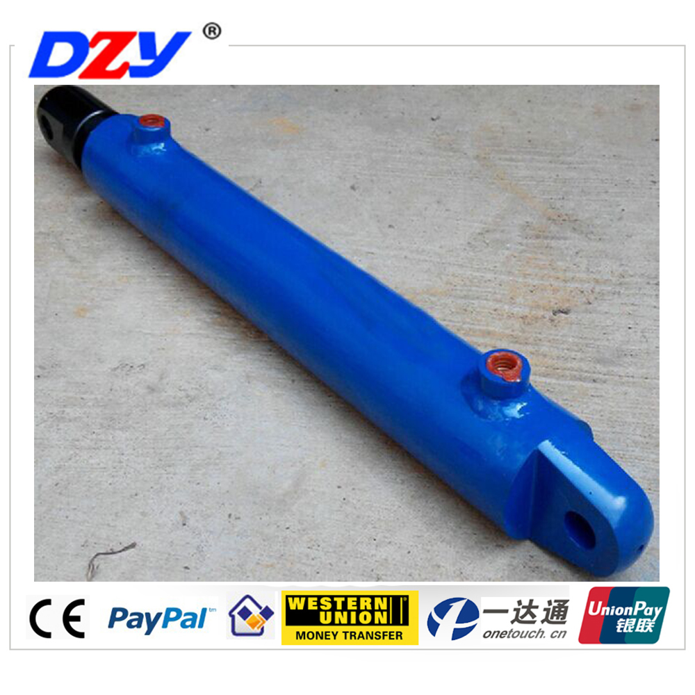 small three stages telescopic hydraulic cylinder