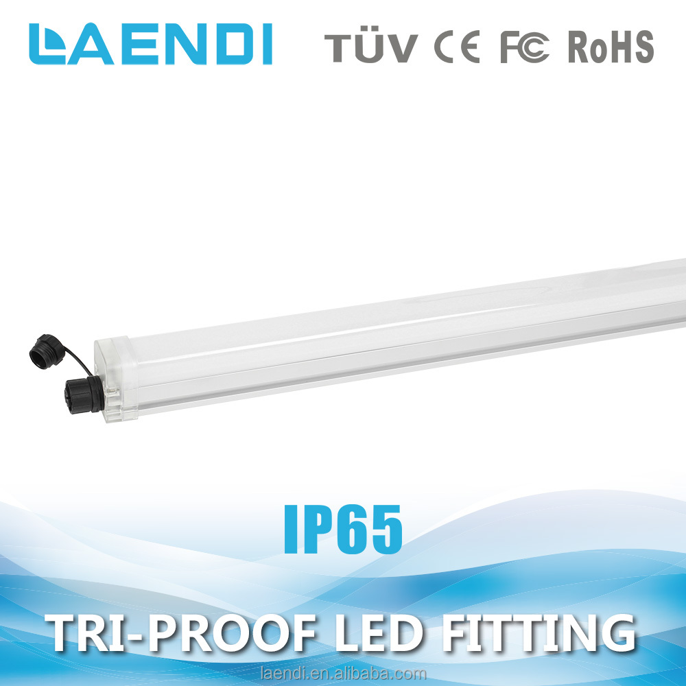 Ceiling hoisting mounted tube light fittings 1.5m 30w 3000lm IP65 led fixture