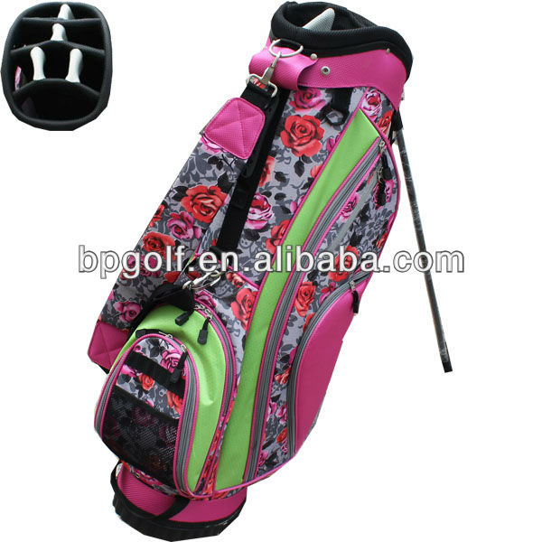 Pink ladies ram golf bags