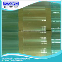 Chinese Products Wholesale corrugated plastic sheet / transparent roof tile corrugated sheet