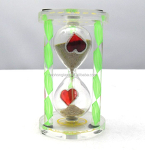 Novelty Small Acrylic Gifts River Sand Custom Hourglass Souvenir