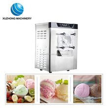 Hard scoop Ice cream making machine for summer business