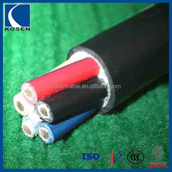 Copper Conductor Rubber Sheathed Outdoor Cable Low Voltage