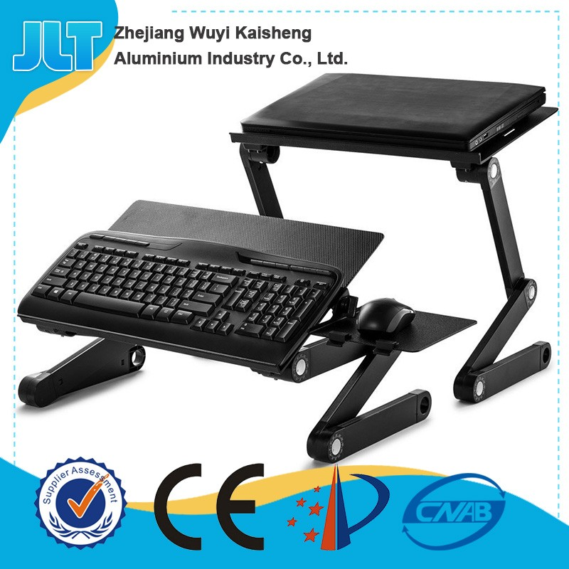 Best selling folding laptop lap desk with cooling fans