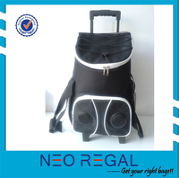 fashion trolley cooler bag speakers