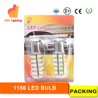 Super quality smd3528 s25 led with ce rohs certificate bay15d car led light p21/5w auto led lamp tail light 1157 1156 s25 1156 c