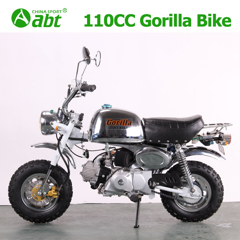 Chrome monkey bike Gorilla bike dirt bike pit bike,atvs,vehicle upbeat manufacturer cheapest price