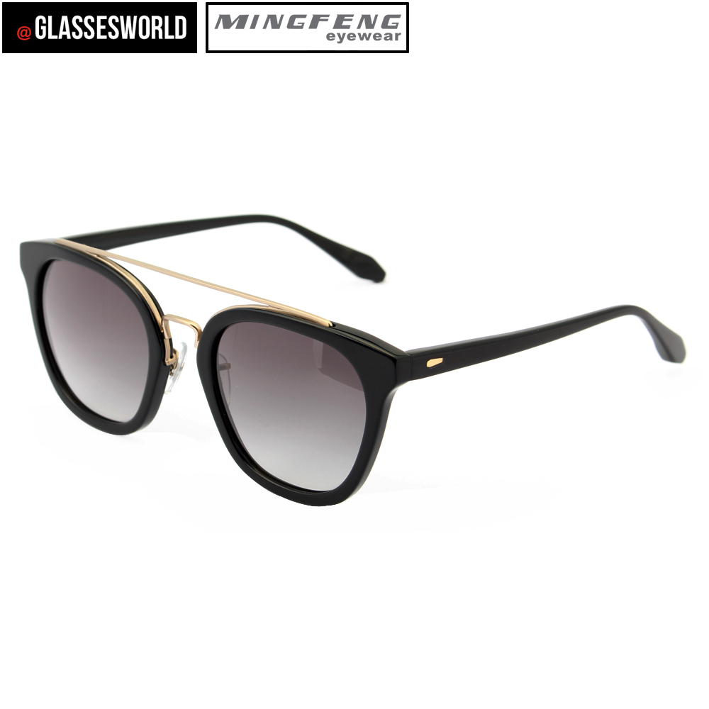 Hot selling acetate sunglasses new fashion eyewear made in china