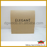recycle small custom made kraft paper envelope